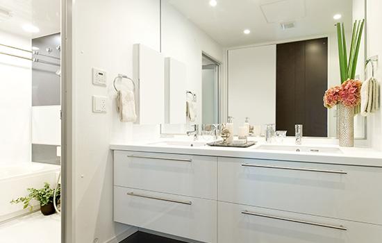 洗面所リフォーム画像