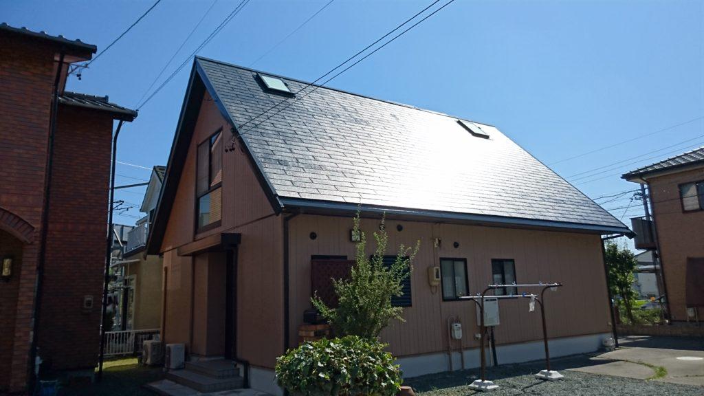 屋根塗装、外壁塗装焼津市